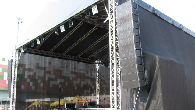 Nagłośnienie estradowe - 2t Wrocław